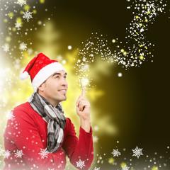 Aufgepasst Weihnachten kommt, Gold