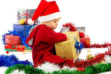 Santa's little helper baby