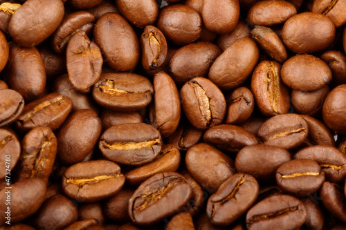 Coffee texture background