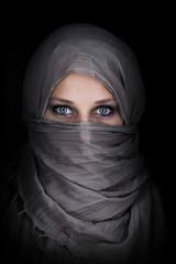 Portrait einer orientalischen Frau