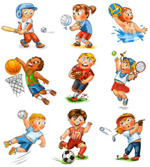 Child participation in sports