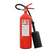 Fire extinguisher (isolated)