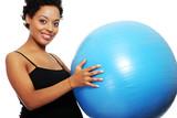 Pregnant woman exercises - 47331759