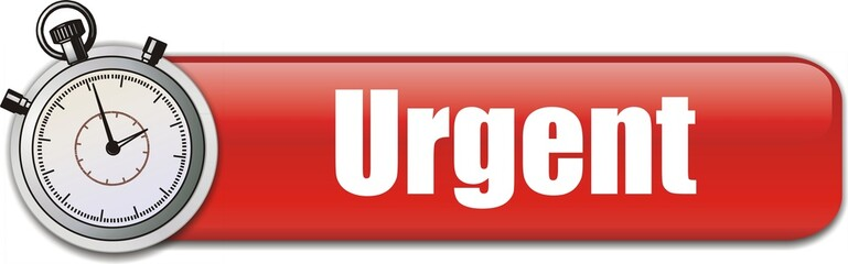 bouton urgent