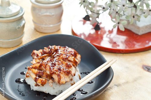 homemade chicken teriyaki