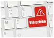 clavier vie privée