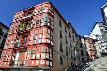 Casco viejo de Bilbao (España)