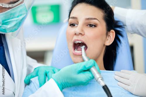 Drilling - dentist treatment