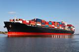 Fototapety Cargo ship