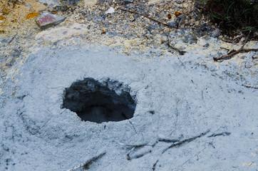 泥火山, 後生掛温泉, 十和田八幡平国立公園