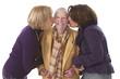 Grand mère - Visite de ses proches
