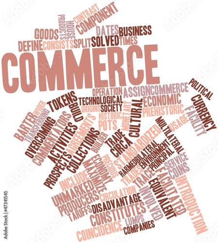 Word cloud for Commerce