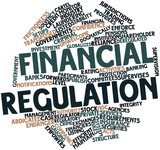 Word cloud for Financial regulation poster