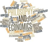 Word cloud for Philosophy and economics poster