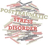 Word cloud for Posttraumatic stress disorder poster