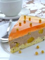 cake - peach glacier