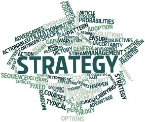 Word cloud for Strategy