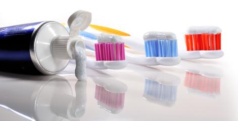 Higiene dental.