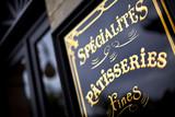 Pâtisserie, commerce, salon de thé, rétro, vintage, français