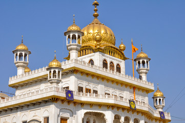 The Sikh Golden Temple in Amritsar, India