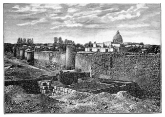 Wall : ancient Damascus
