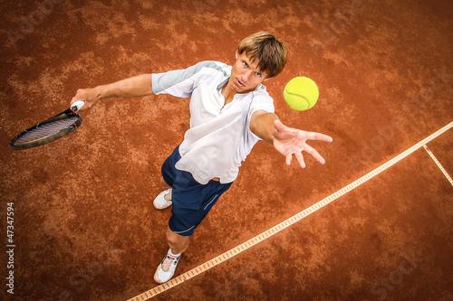 Zdjęcia na płótnie, fototapety, obrazy : tennis player