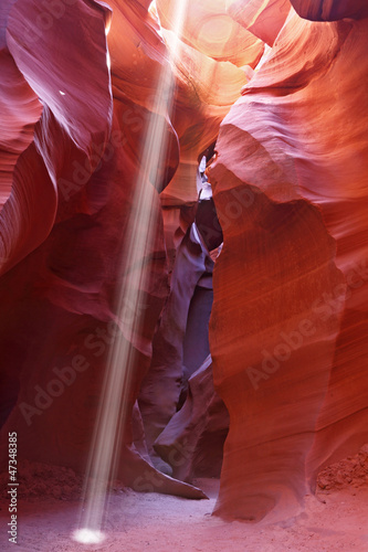 Noon in Antelope Canyon