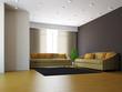 Livingroom with sofas and a plant