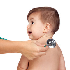 Medical Examination to a Beautiful baby