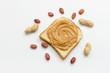 Peanut butter on toast