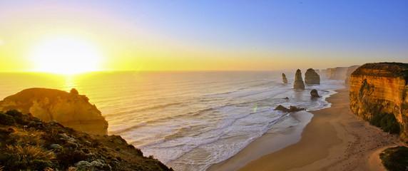 Twelve Apostles Great Ocean Road bei Sonnenuntergang