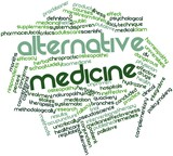 Word cloud for Alternative medicine
