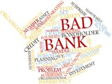 Word cloud for Bad bank