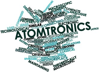 Word cloud for Atomtronics
