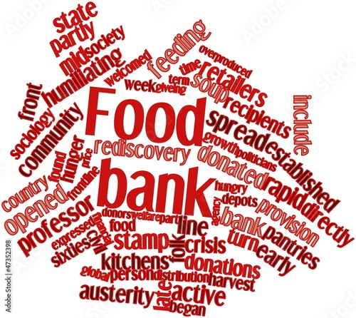 Word cloud for Food bank