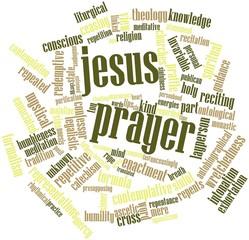 Word cloud for Jesus Prayer