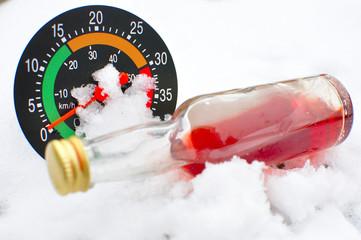 Alcool et vitesse