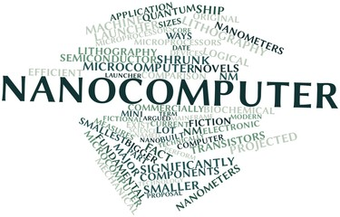 Word cloud for Nanocomputer