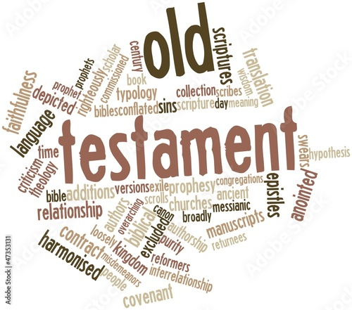 Word cloud for Old Testament