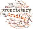 Word cloud for Proprietary trading
