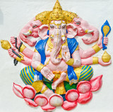 God of success 29 of 32 posture. Indian or Hindu God Ganesha ava