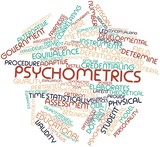 Word cloud for Psychometrics