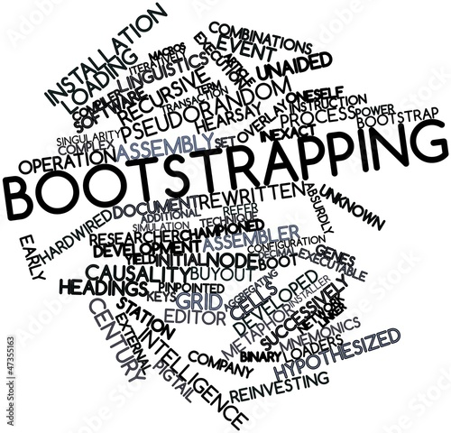 Word cloud for Bootstrapping