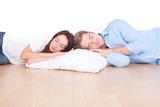 paar beim schlafen