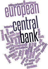 Word cloud for European Central Bank