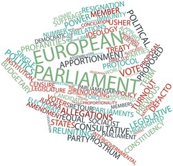 Word cloud for European Parliament