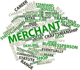 Word cloud for Merchant