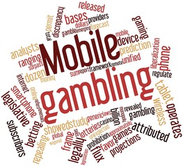 Word cloud for Mobile gambling
