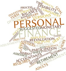 Word cloud for Personal finance