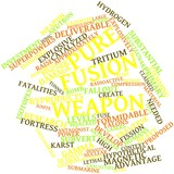 Word cloud for Pure fusion weapon poster